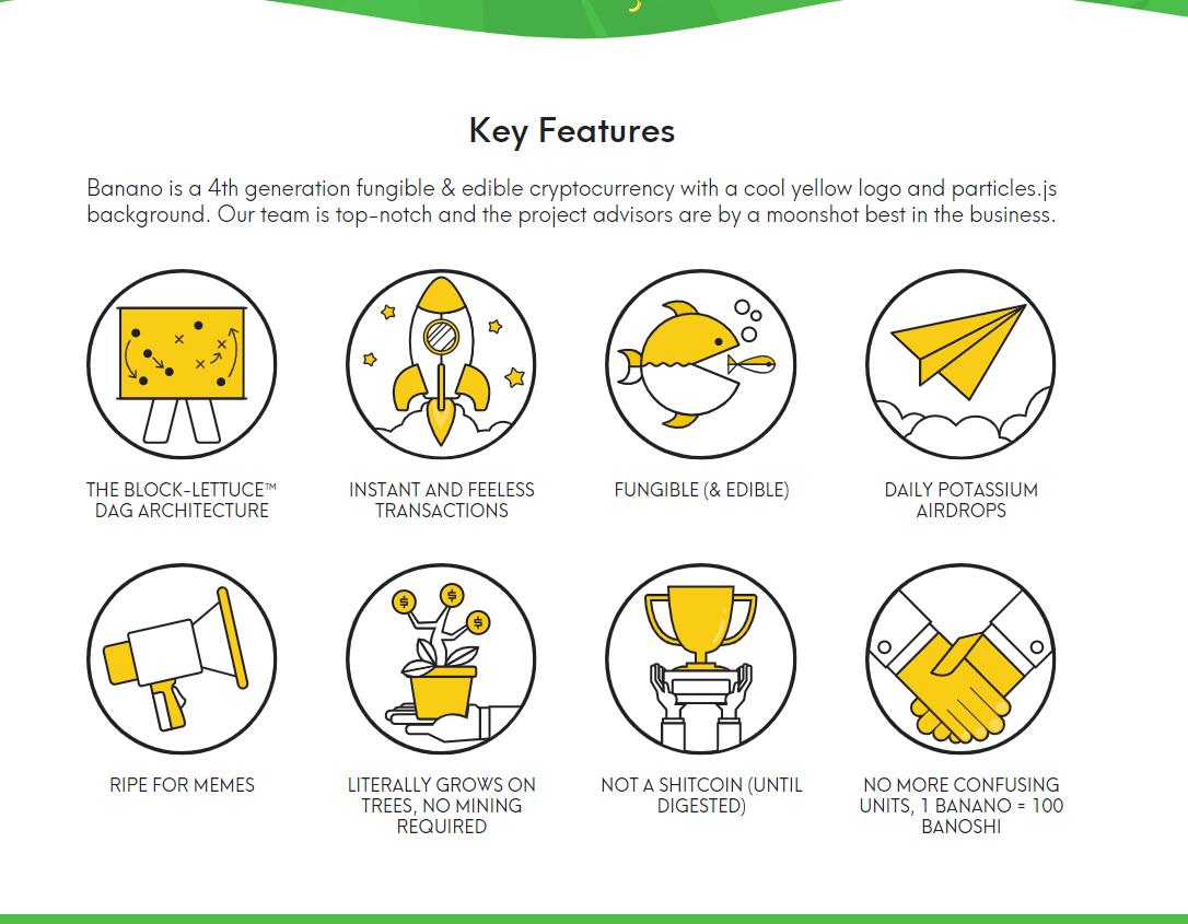 Banano features